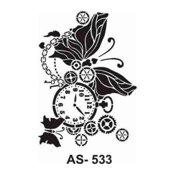 Cadence AS -533  A4 Stencil (Kolay Boyama Þablonu )
