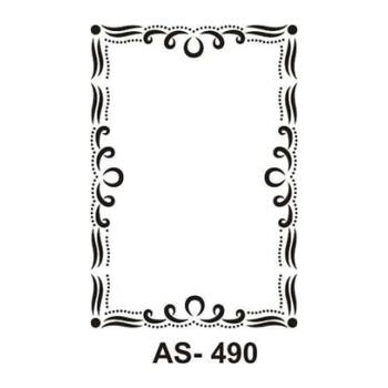 Cadence AS -490 A4 Stencil (Kolay Boyama Þablonu )