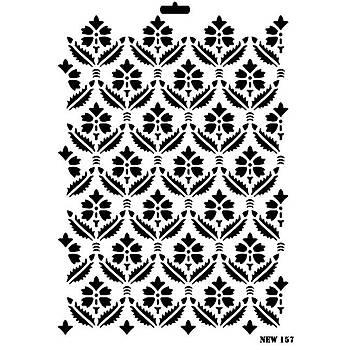 Rich New 157 Stencil (Kolay Boyama Þablonu )