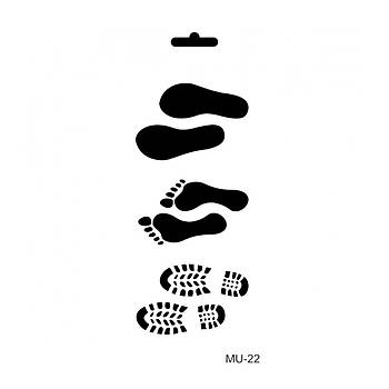 Cadence MU -22 Mix Media  Stencil (Kolay Boyama Þablonu )