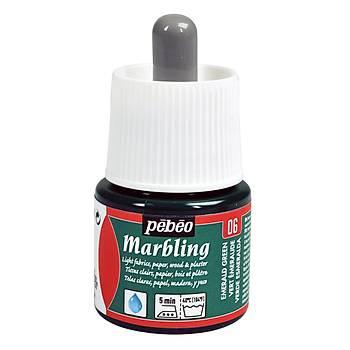 Pebeo M-06 Emerald Green Marbling -Ebru Boyasý