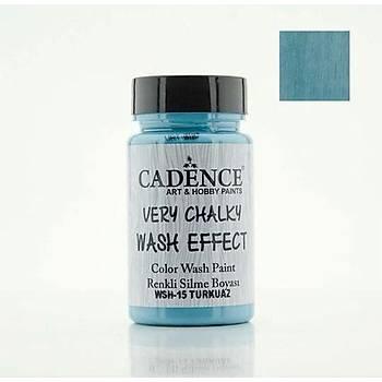 Cadence WSH-15 Turkuaz Very Chalky Wash Effect (Renkli Silme Boyasý )