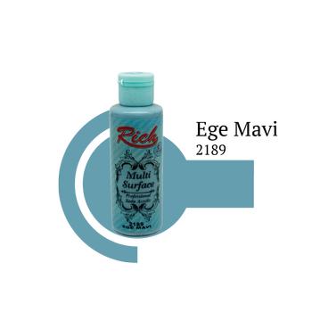 Rich 130 cc 2189 Ege mavi  Multisurface boya