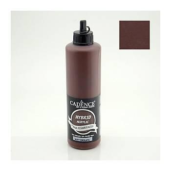 Cadence 500 ml 017 Çikolata Hibrid Multisurface  boya