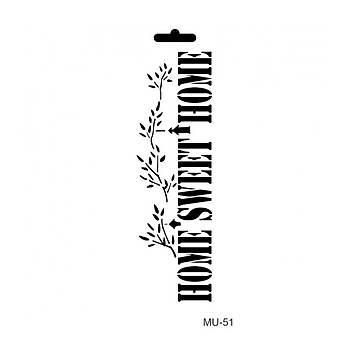 Cadence MU -51 Mix Media  Stencil (Kolay Boyama Þablonu )