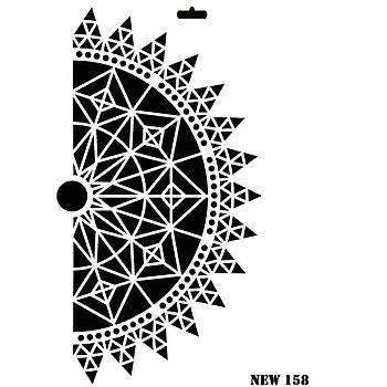 Rich New 158 Stencil (Kolay Boyama Þablonu )