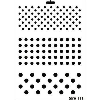 Rich New 111 Stencil (Kolay Boyama Þablonu )