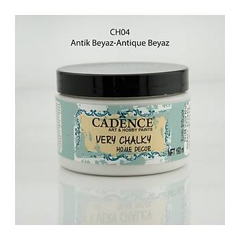 Cadence 150 ml ch-04 Antik  Beyaz Very Chalky Home Decor