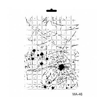 Cadence MA -46 Mix Media  Stencil (Kolay Boyama Þablonu )