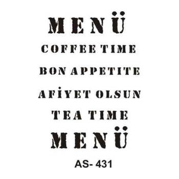 Cadence AS -431 A4 Stencil (Kolay Boyama Þablonu )