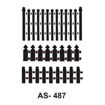 Cadence AS -487 A4 Stencil (Kolay Boyama Þablonu )