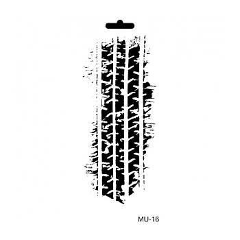 Cadence MU -16 Mix Media  Stencil (Kolay Boyama Þablonu )