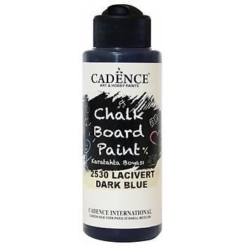 Cadence 120 ml 2530 Lacivert Kara Tahta Boyasý (Chalk Board Paint )