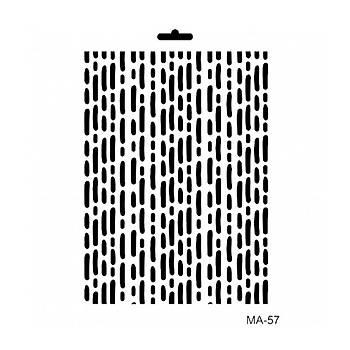 Cadence MA -57 Mix Media  Stencil (Kolay Boyama Þablonu )