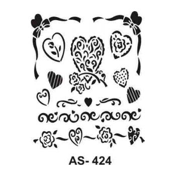Cadence AS -424 A4 Stencil (Kolay Boyama Þablonu )