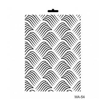 Cadence MA -54 Mix Media  Stencil (Kolay Boyama Þablonu )