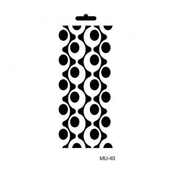 Cadence MU -40 Mix Media  Stencil (Kolay Boyama Þablonu )