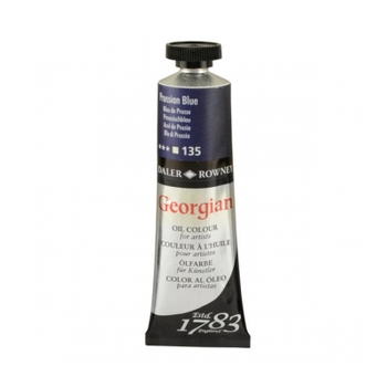 Daler Rowney Georgian 135 Prussian Blue  38 ML Yaðlýboya