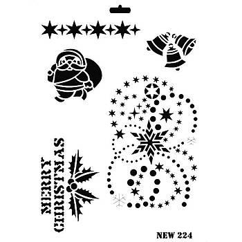Rich New 224  Stencil (Kolay Boyama Þablonu )