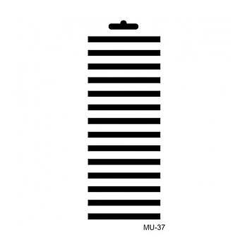 Cadence MU -37 Mix Media  Stencil (Kolay Boyama Þablonu )