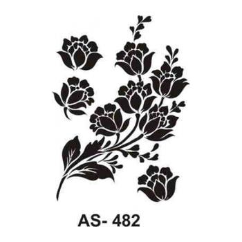 Cadence AS -482 A4 Stencil (Kolay Boyama Þablonu )