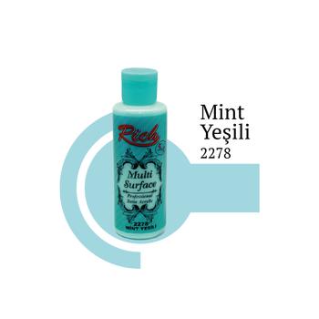 Rich 130 cc 2278 Mint yeþili Multisurface boya