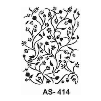 Cadence AS -414 A4 Stencil (Kolay Boyama Þablonu )