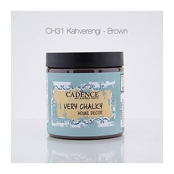 Cadence 500 ml CH-31 Kahverengi  Very Chalky Home Decor