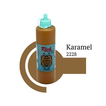 Rich 500 cc 2228 Karamel  Multisurface boya