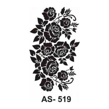 Cadence AS -519  A4 Stencil (Kolay Boyama Þablonu )