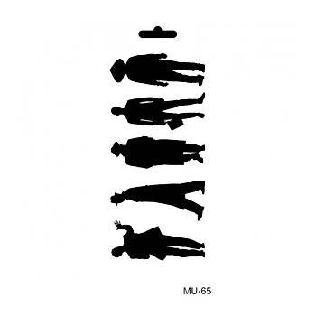 Cadence MU -65 Mix Media  Stencil (Kolay Boyama Þablonu )