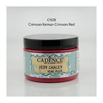 Cadence 150 ml ch-28 Crimson Kýrmýzý  Very Chalky Home Decor