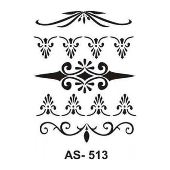 Cadence AS -513 A4 Stencil (Kolay Boyama Þablonu )