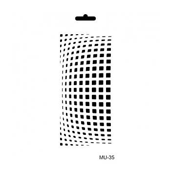 Cadence MU -35 Mix Media  Stencil (Kolay Boyama Þablonu )