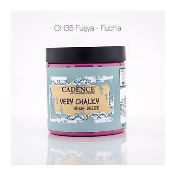 Cadence 500 ml CH-35 Fuþya  Very Chalky Home Decor
