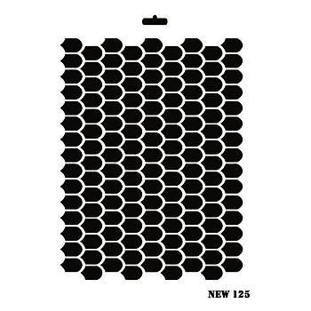 Rich New 125 Stencil (Kolay Boyama Þablonu )