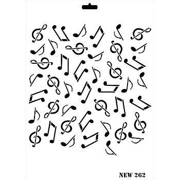 Rich New 262  Stencil (Kolay Boyama Þablonu )