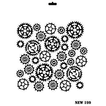 Rich New 199 Stencil (Kolay Boyama Þablonu )