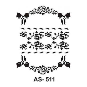 Cadence AS -511 A4 Stencil (Kolay Boyama Þablonu )