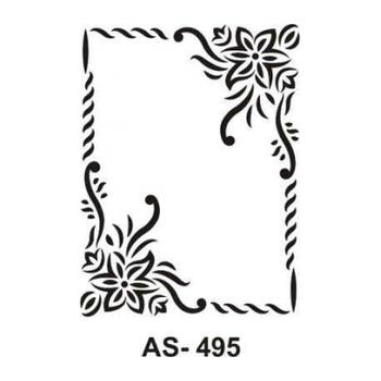 Cadence AS -495 A4 Stencil (Kolay Boyama Þablonu )