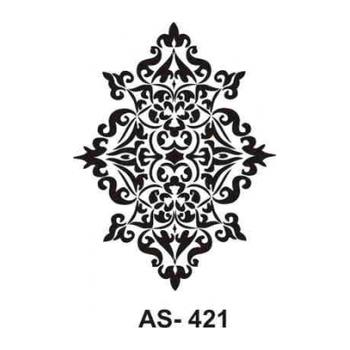 Cadence AS -421 A4 Stencil (Kolay Boyama Þablonu )