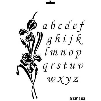 Rich New 182 Stencil (Kolay Boyama Þablonu )