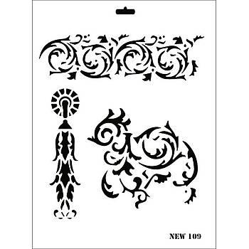 Rich New 109 Stencil (Kolay Boyama Þablonu )