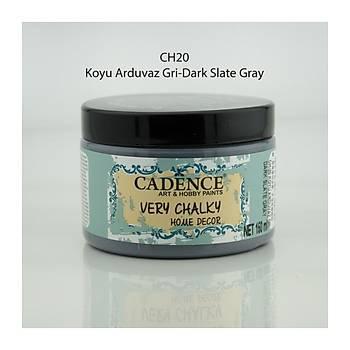 Cadence 150 ml ch-20 Koyu Arduvaz Gri Very Chalky Home Decor