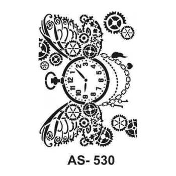 Cadence AS -530  A4 Stencil (Kolay Boyama Þablonu )