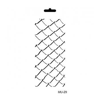 Cadence MU -29 Mix Media  Stencil (Kolay Boyama Þablonu )