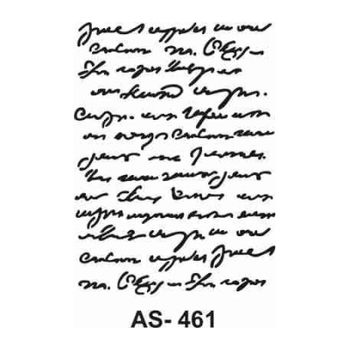 Cadence AS -461 A4 Stencil (Kolay Boyama Þablonu )
