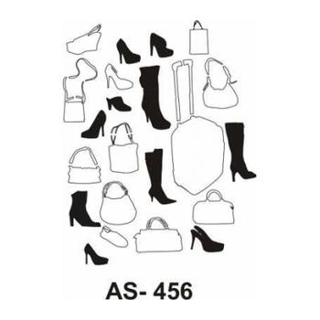 Cadence AS -456 A4 Stencil (Kolay Boyama Þablonu )
