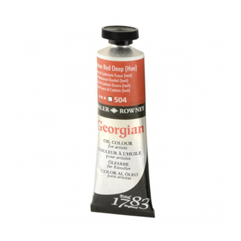 Daler Rowney Georgian 504 Cadmium Red Deep 38 ML Yaðlýboya