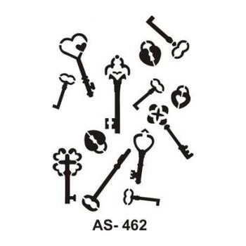 Cadence AS -462 A4 Stencil (Kolay Boyama Þablonu )